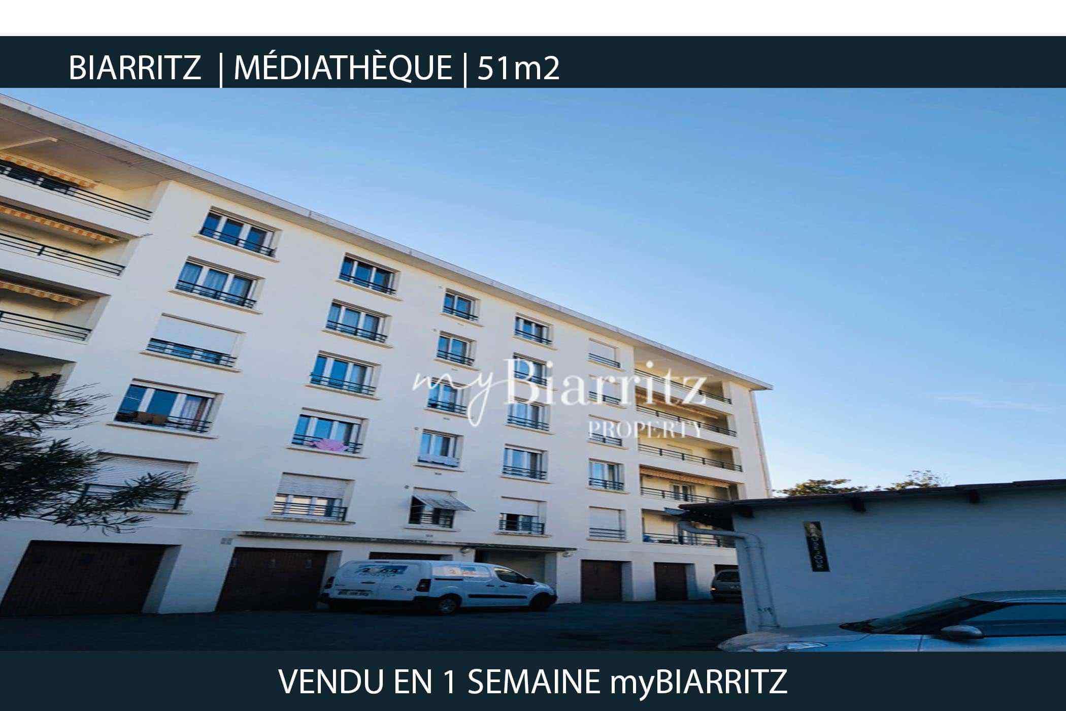 BIARRITZ-mediatheque