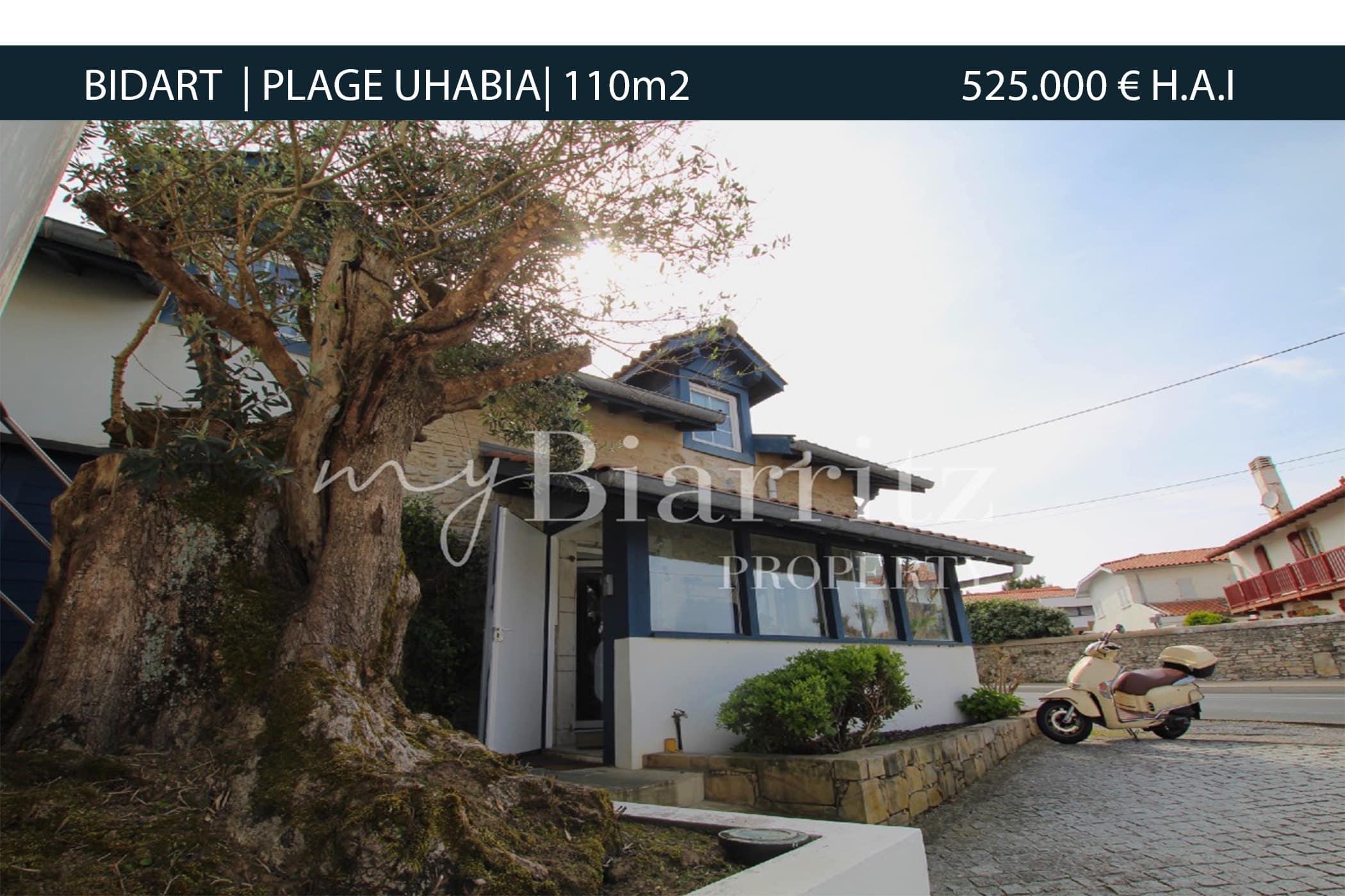 BIDART-PLAGE-UHABIA
