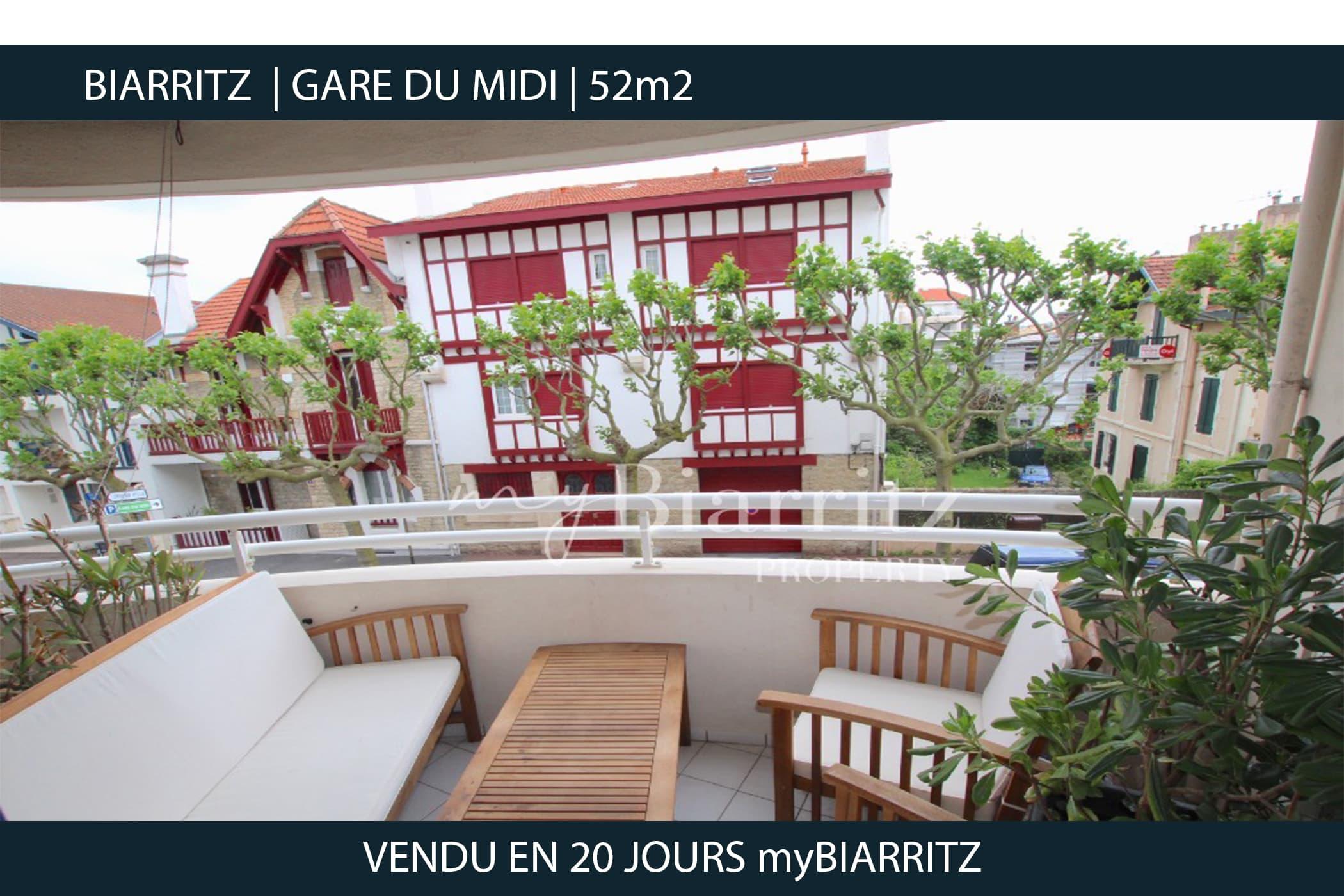 Biarritz - Gare du midi