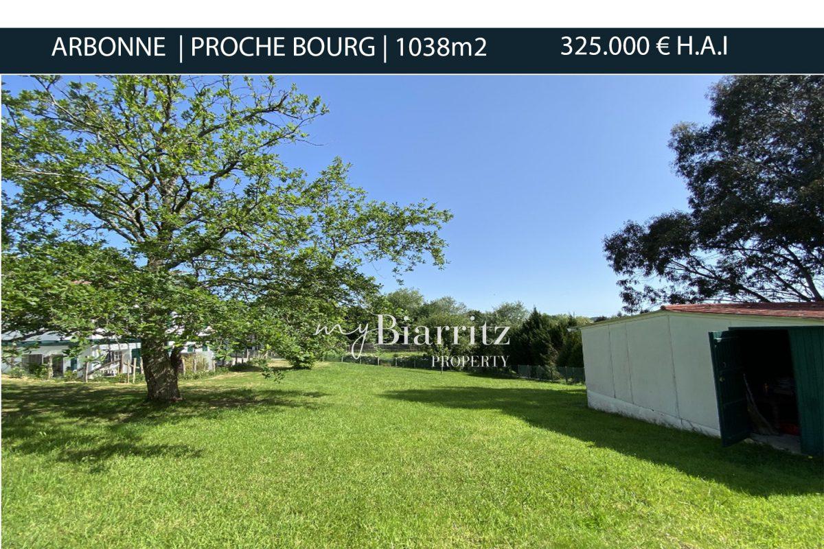 ARBONNE-PROCHE-BOURG-terrain-a-vendre-mybiarritz