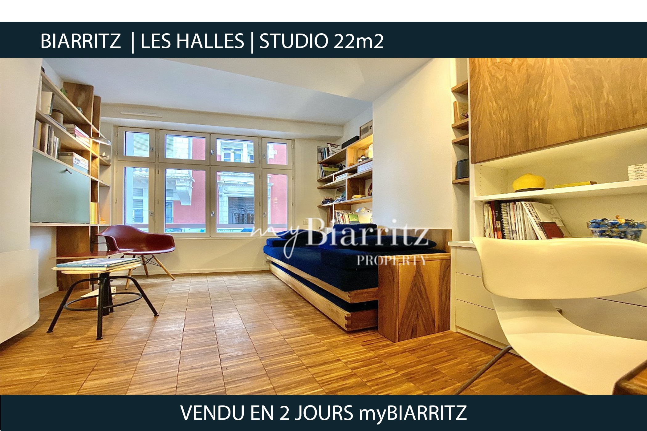 Biarritz - STUDIO-LES-HALLES