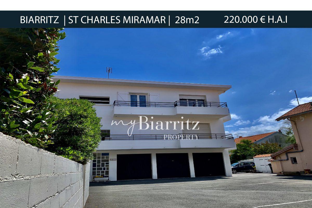 Biarritz-st-charles-Miramar-Parking